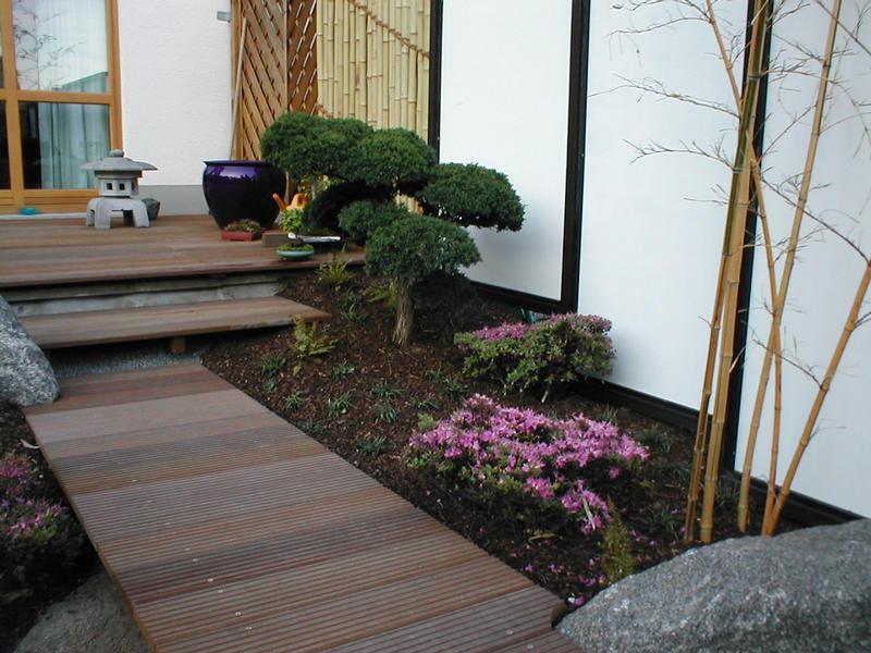 Detail aus dem Japangarten