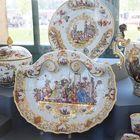 Detail aus der Porzellansammlung im Dresdener Zwinger