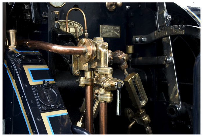 Detail Dampfmaschine