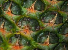 Détail de peau d'ananas…