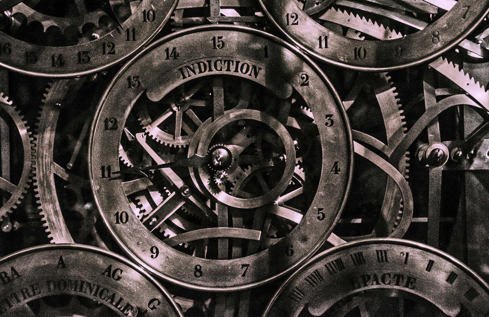 Detail der Astronomische Uhr