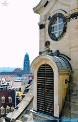 Detail der Dresdner Frauenkirche