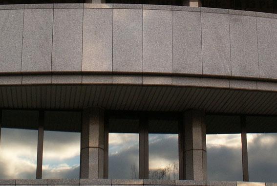 Detail der ehemaligen japanischen Botschaft in Bonn
