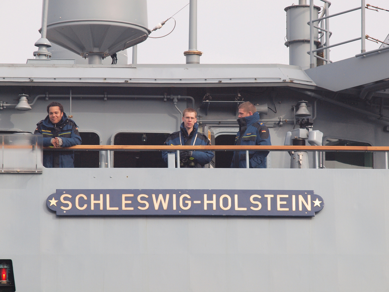 Detail der Fregatte SCHLESWIG - HOLSTEIN