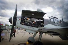 Detail der Me 109 - Eigentümer Messerschmitt Stiftung
