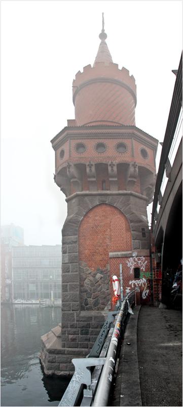 Detail der Oberbaumbrücke,