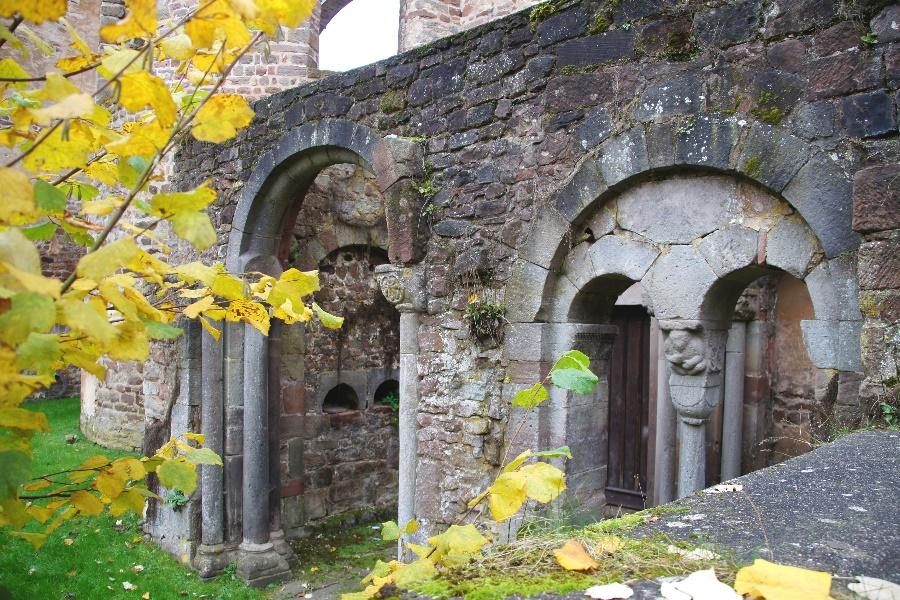 Detail der Stiftsruine 1 Bad Hersfeld (Hessen)