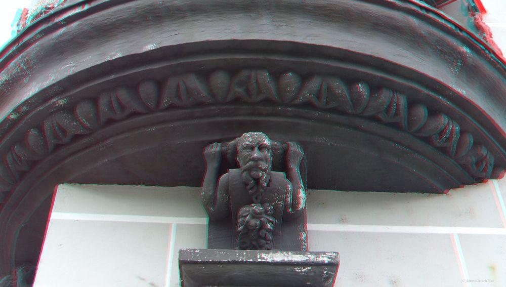 Detail des Erkers vom Torgauer Rathaus