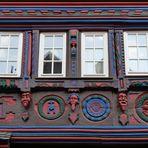 Detail des Windeckhauses in Bad Münstereifel, Orchheimer Straße