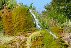 Detail Dreimühlen-Wasserfall 2 - September 2016