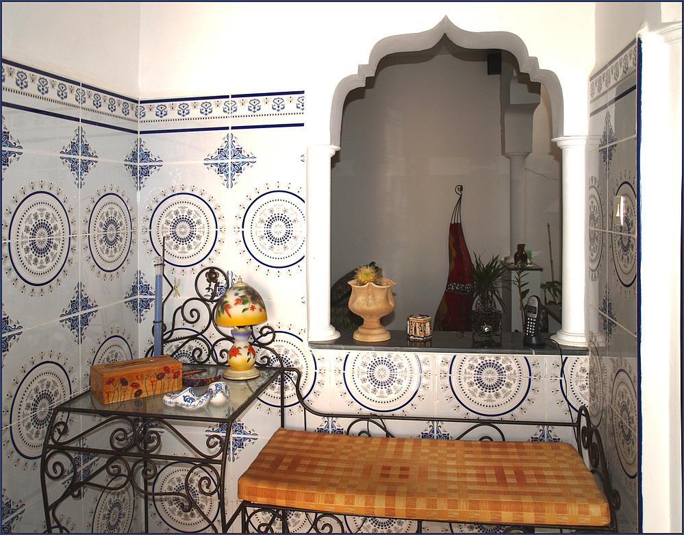 Marokkanische Inneneinrichtung | Detail D Un Interieur Typique Marocain Inneneinrichtung Einer