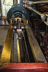 Detail einer alten Dampflok