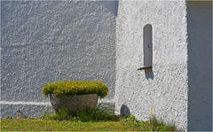 Detail einer oberbayrischen Kapelle.