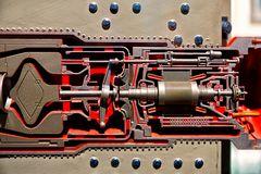 Detail eines Kugelhaufen Reaktors