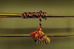 Detail eines Signalhorn