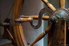 Detail eines Spinnrad (2)