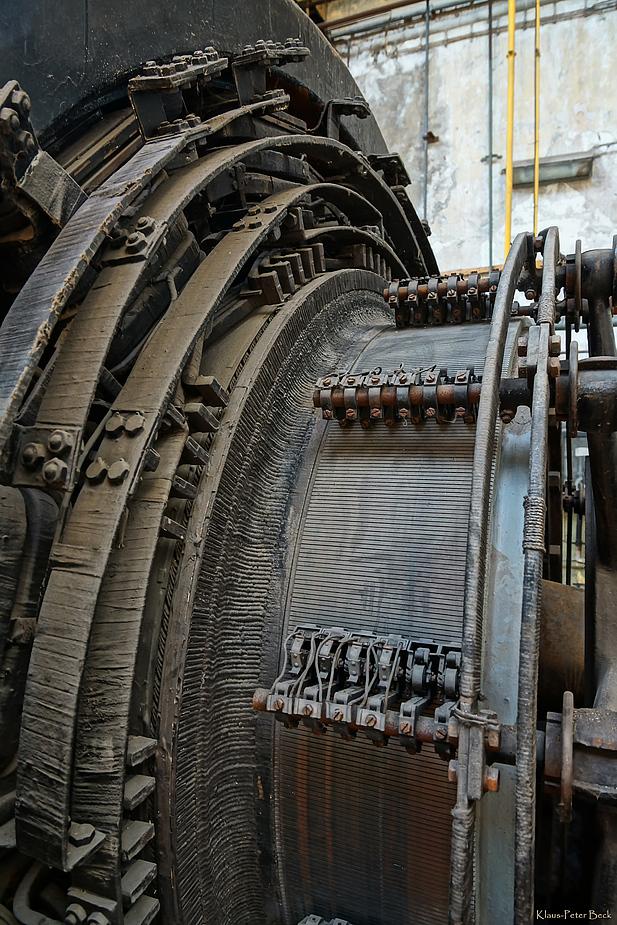 Detail eines Stromgenerator