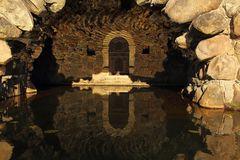 Detail Insel Stein