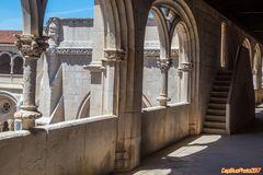 Detail Kreuzgang Mosteiro de Alcobaca