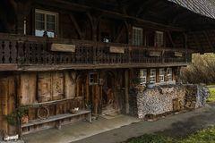 Detail Schwarzwaldhaus