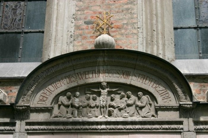 Detail St. Anna-Kirche im Lehel