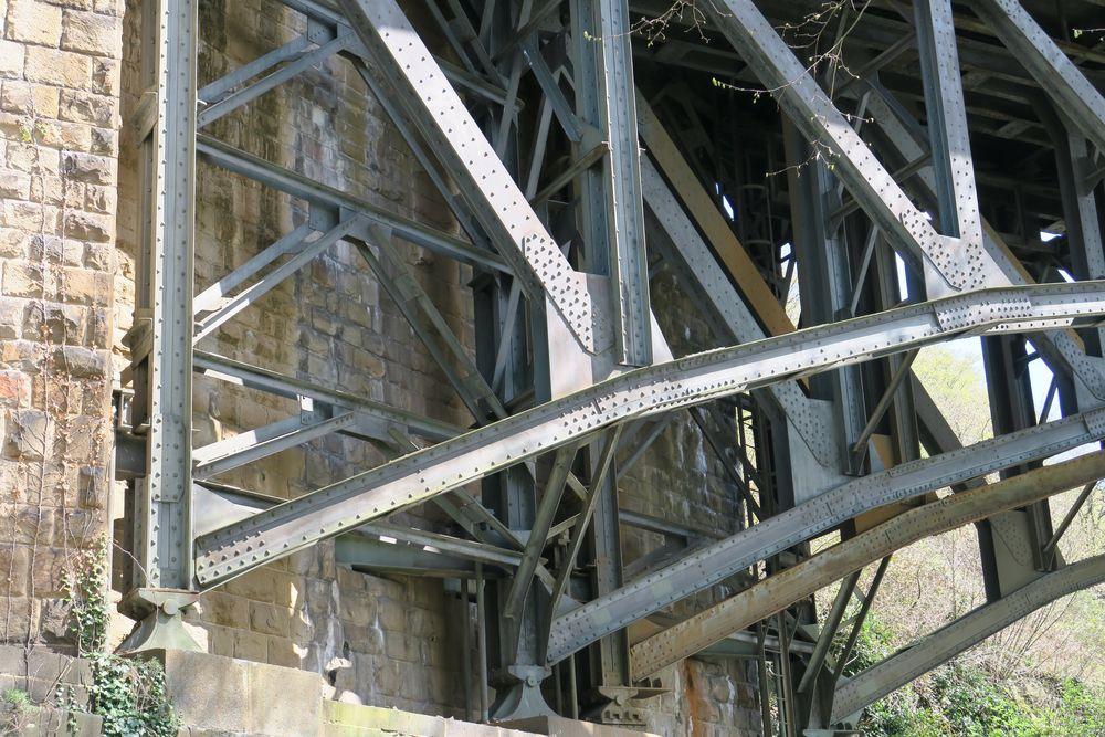 Detail Viadukt Ruhr von 1913