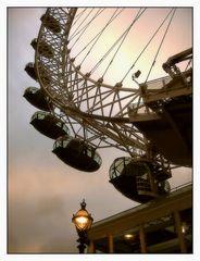 Detail vom London Eye