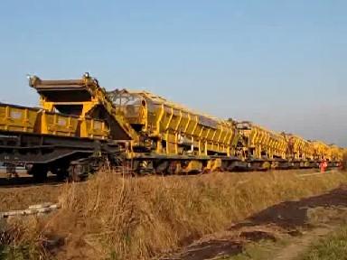 Detail vom Schienenleger