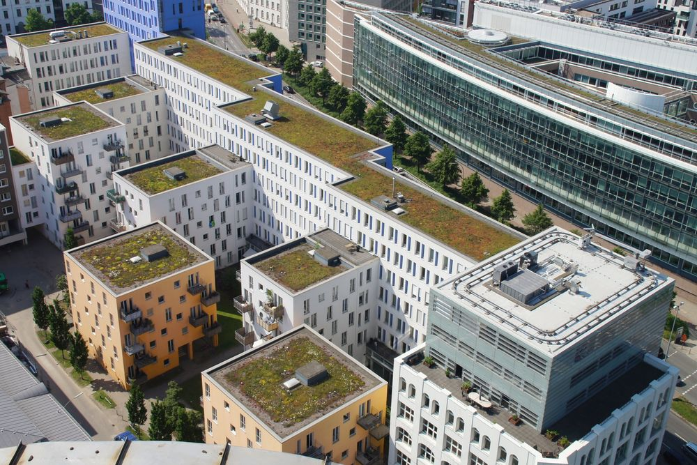 Detail von Hamburgs Architektur
