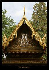Detailansicht Alte Thai-Sala