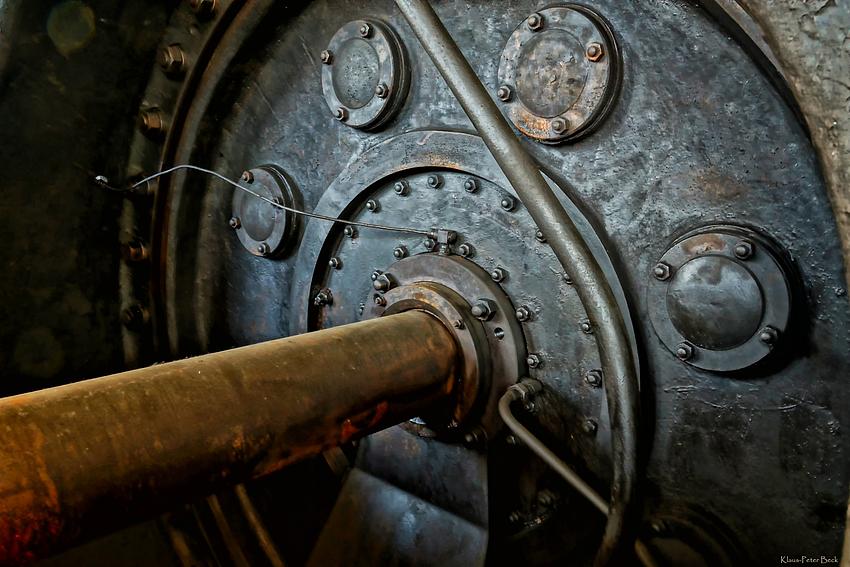 Detailansicht eines Kompressor