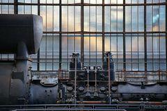 Detailansicht Gichtgasgenerator