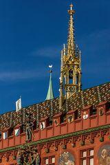 Detailaufnahme Basler Rathaus-Reload