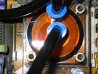 Detailaufnahme eines CPU Wasserkühlers (selbstentwickelt)