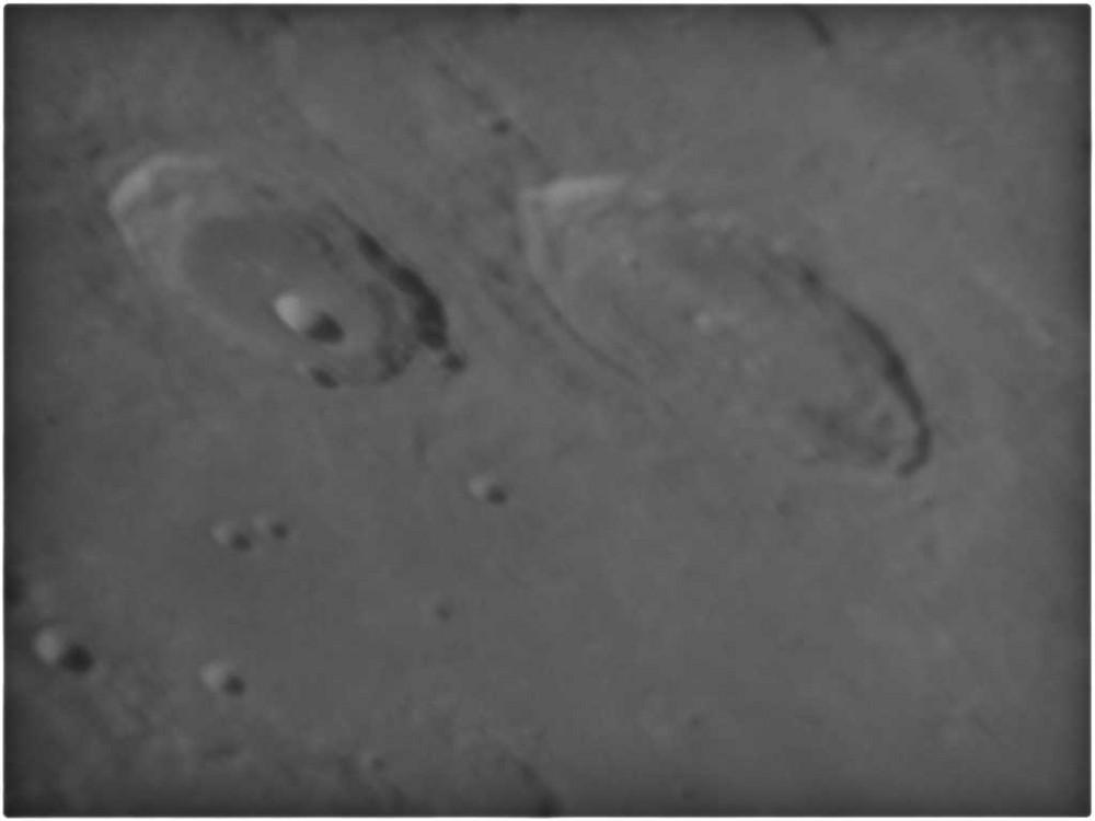 Detailaufnahme vom Mond