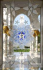 Details der Zayed-Moschee