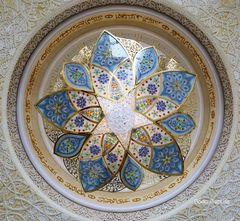 Details der Zayed-Moschee II
