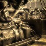 Details vom Motor