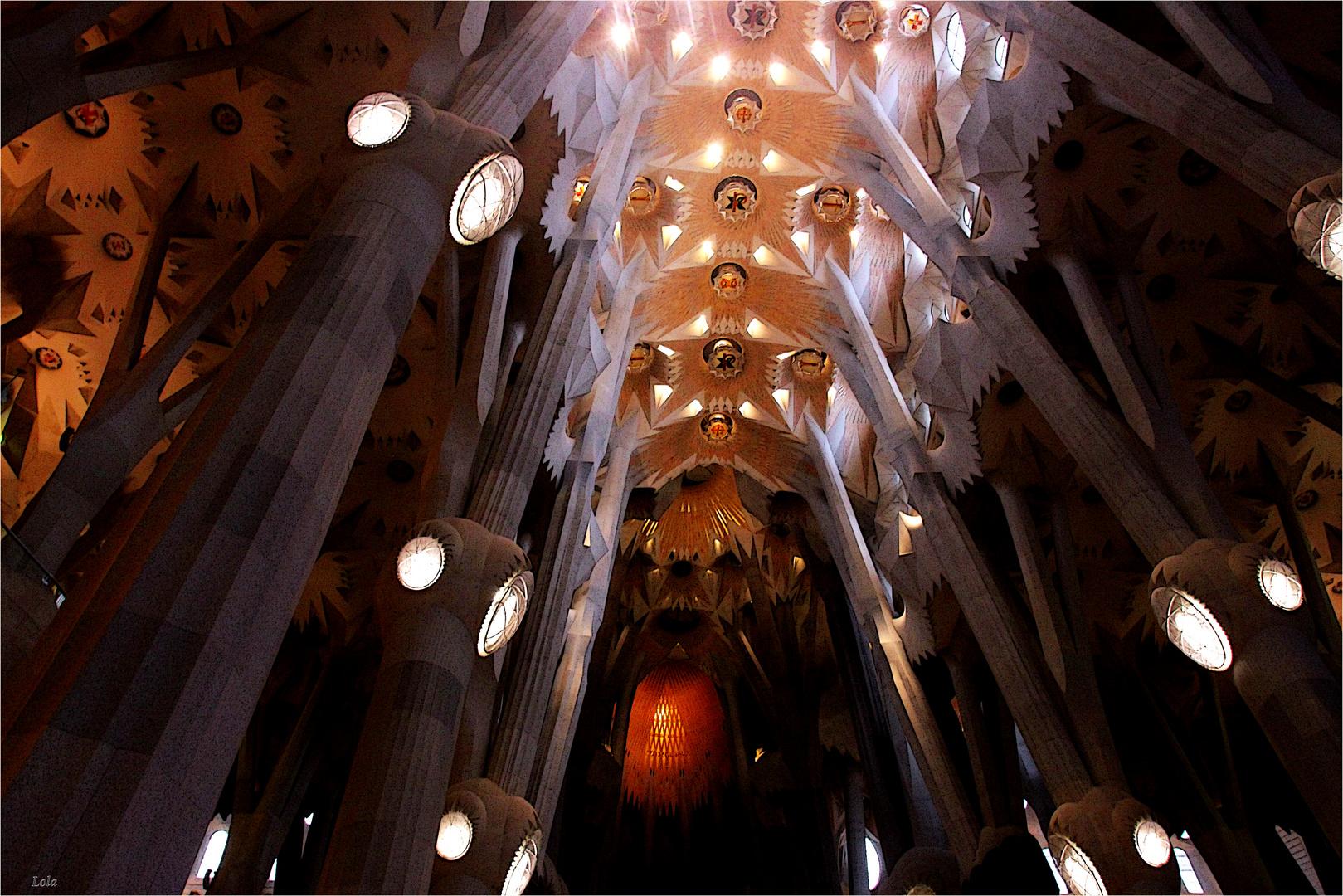 ...detalle de la Sagrada Familia...