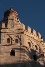 detalle de la Torre del Oro.