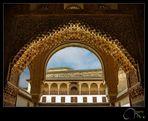 Detalle del Palacio de Comares
