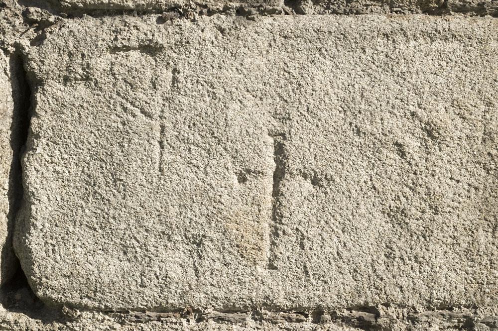 Detalles de la muralla