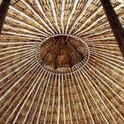 'Detalles de un techo de campo'