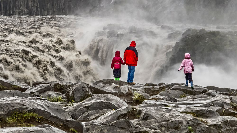 DETTIFOSS (Island) - Europas mächtigster Wasserfall (2)