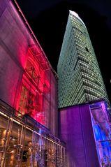 Deutsche Bahn Tower am Potsdamer Platz