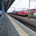 Deutsche Bahn wartet auf Weiterfahrt zur oberschlesischen Steinkohle, ich auf ...