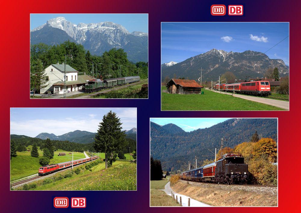 Deutsche Bundesbahn --> Deutsche Bahn