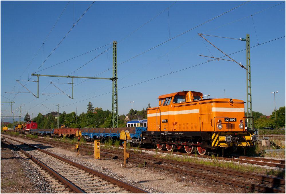 Deutsche Reichsbahn Epoche 3 in Oberbayern ;-)