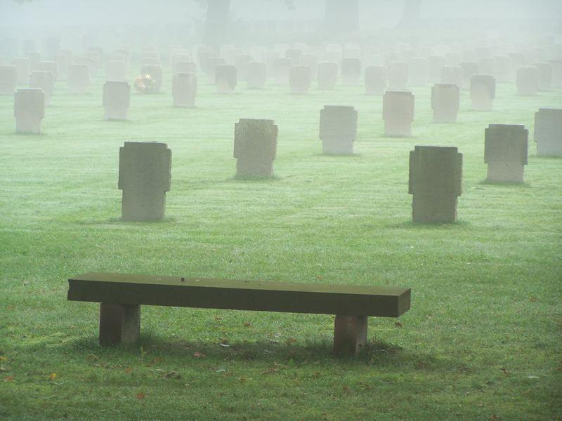 Deutscher Soldaten Friedhof in Frankreich