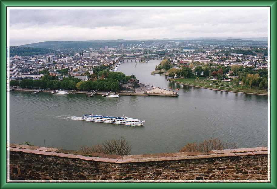 Deutsches Eck / Koblenz am Rhein